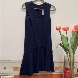 New Ann Taylor Blue dress size  2P style s390468